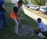 Stormwater maintenance inspection - poppin' manholes