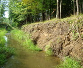 The Vicious Cycle: 'More Water Faster' has led to channel downcutting and erosion in this creek.